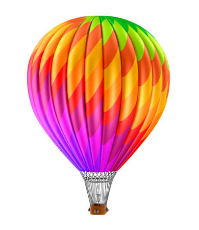 air baloon: Colorful hot air balloon Stock Photo