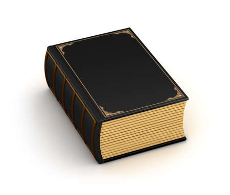 Thick old book Stock Photo - 17964785