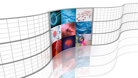 Medicine  Background displays  photo