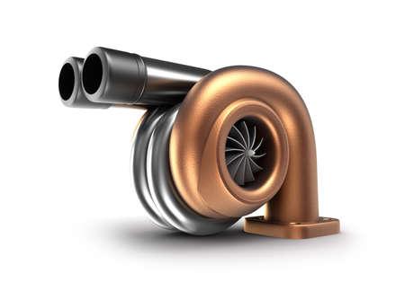 Turbolader Auto Turbine Konzept Standard-Bild - 17964788