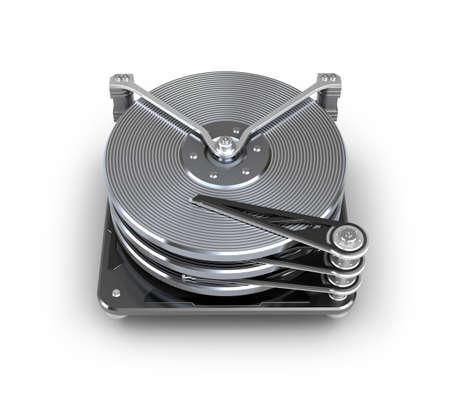 hard disk drive: Hard disc drive  Stock Photo