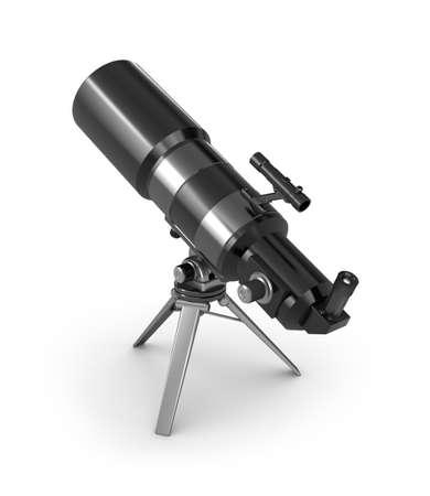refracting: Telescope on tripod