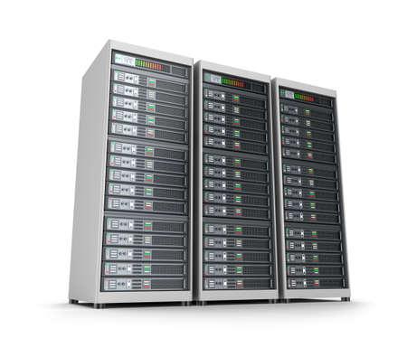hospedagem: Conjunto de servidores de dados Banco de Imagens