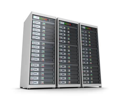 mainframe: Set of data servers