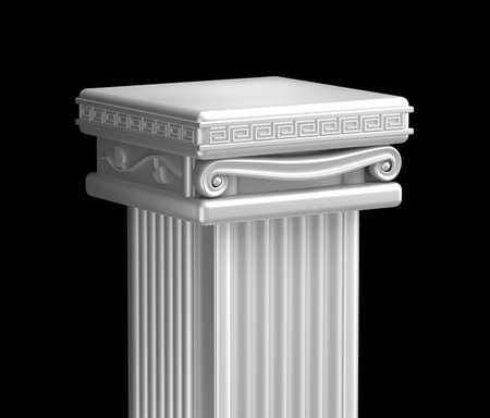 roman pillar: Ancient pillar top