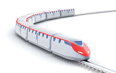 high speed railway: High speed train  My own design