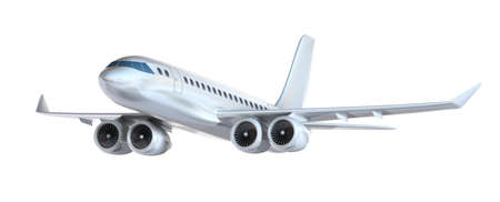 jetliner: Airplane isolated  My own design