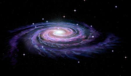 La galaxia espiral Vía Láctea