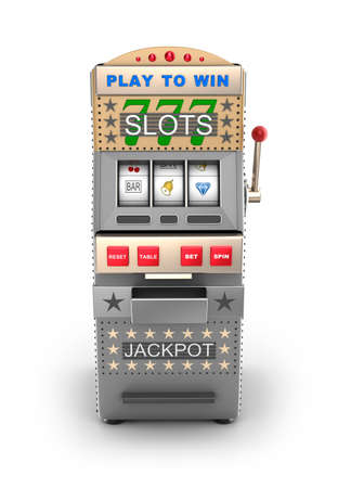 A slot machine, gamble machine  photo