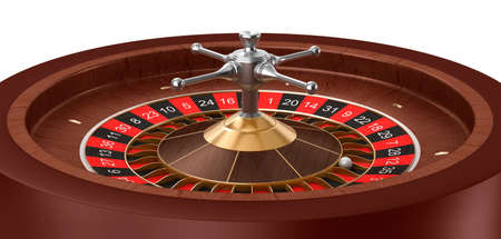 Casino Roulette isolated Stock Photo - 18849011
