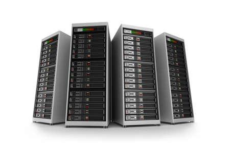 rechenzentrum: Server, isoliert