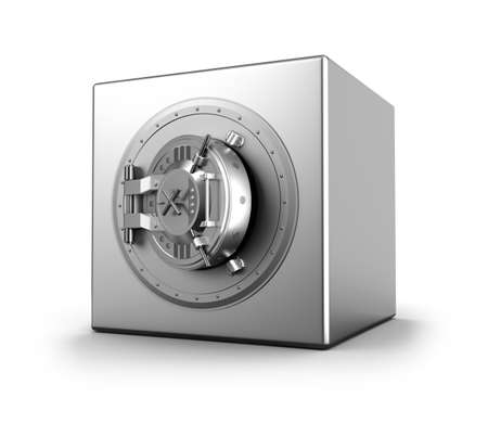 solid silver: Bank safe
