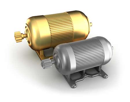 Industrial electric motors photo