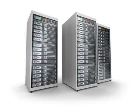 Netzwerk-Server in Datencenter Standard-Bild - 27849334