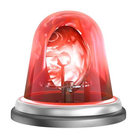rotating: Emergency Light , isolated