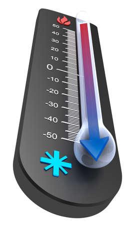 remission: Termometro: declino Temperatura