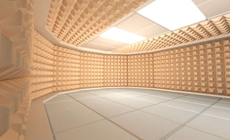 acoustical: Soundproof room