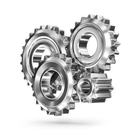gears concept: Gears concept business connections Stock Photo