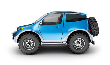 offroad car: Offroad car concept. My own design Stock Photo