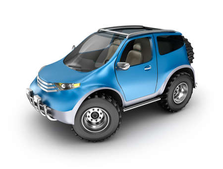 offroad car: Offroad car concept. My own design.
