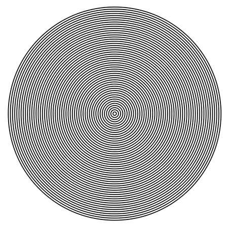 circulos concentricos: C�rculos conc�ntricos de textura centro Foto de archivo