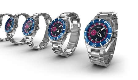 wrist: Mechanical wrist watches
