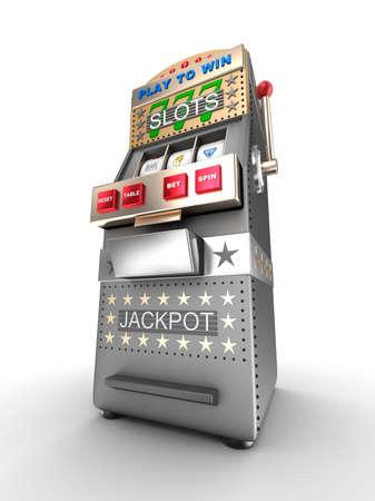 slot: Slot machine, gamble machine.