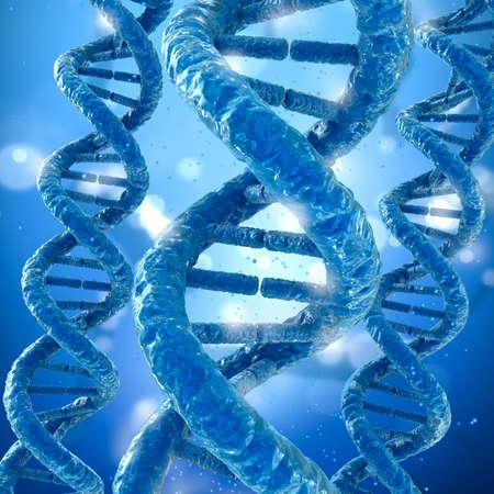 cytosine: DNA molecule concept, Medical accurate 3D illustration