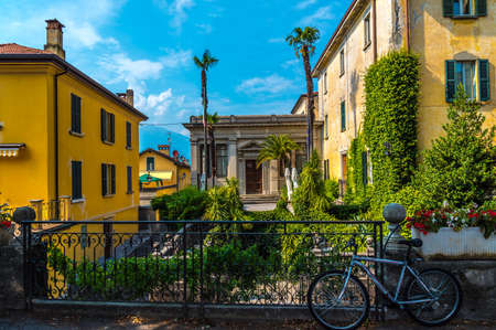 Bellagio Arhitecture views, Small town on lake Como, Italy
