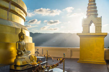 Buddhist temple Wat Khao Hua Jook Pagoda. Samui, Thailand.
