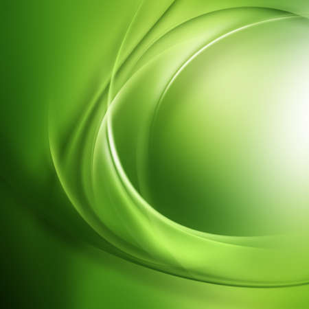 wry:   Transparent spiral lines on a green surface  Stock Photo
