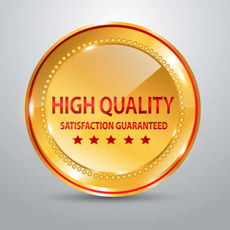 Quality badge icon design, vector illustration  Stock Vector - 24099270