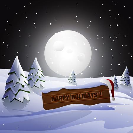 greeting season:  Season greeting card design, vector illustration  Illustration
