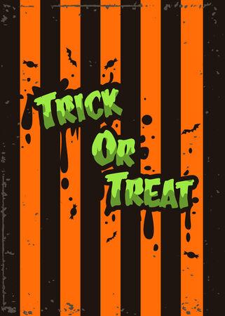 halloween pattern: Halloween poster design