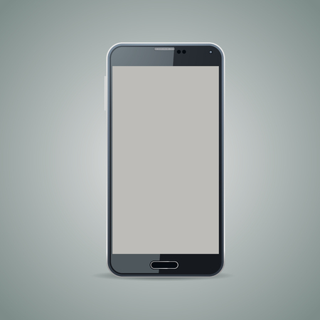 newest: Newest smartphone vector design, vector illustration.