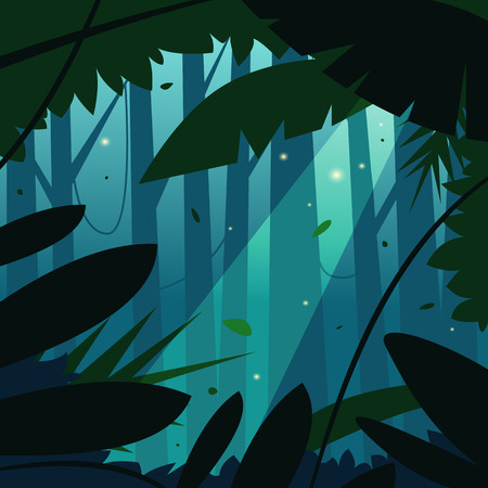forest trees: The Jungle