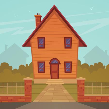 Cartoon Huis