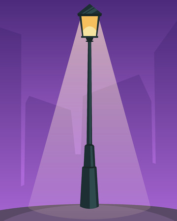 уличный фонарь: Ретро уличный фонарь
