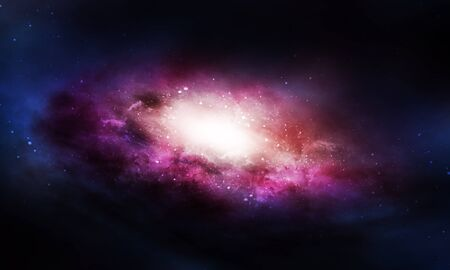 Galaxy Background Stockfoto