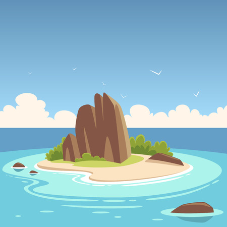 small flock: Tropical Island