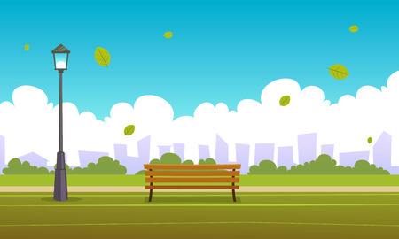 banc parc: Summer City Park Illustration