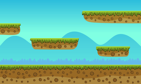 Game Achtergrond Stock Illustratie