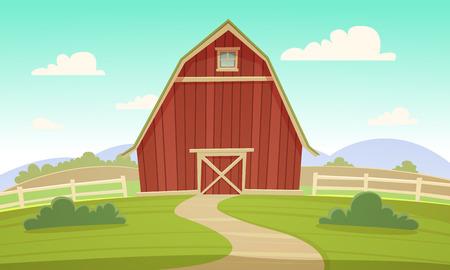 red barn: Red Farm Barn
