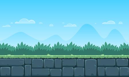 Cartoon spel achtergrond Stockfoto - 43889983