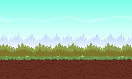 Cartoon Game Background