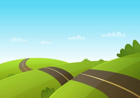 tree line: Hill Road