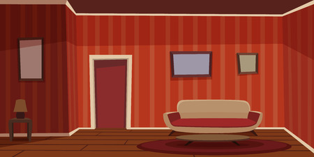 comfort room: Retro Living Room