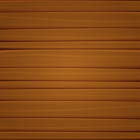 Vector illustration of the wooden surface with planks.
