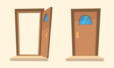 Die Cartoon-Türen