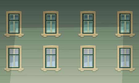 facade: Retro Building Facade